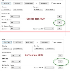 Service tool 3600